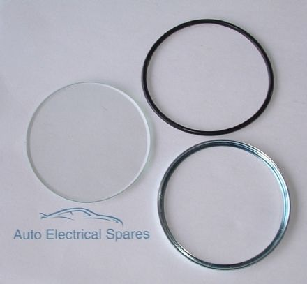 010143 Inner support ring , glass and o ring seal for SMITHS JAEGER CHRONOMETRIC MOTORCYCLE SPEEDO